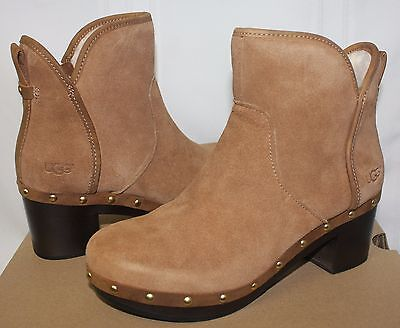 1e565d7c8ba UGG WOMEN'S CAM II Clog Boots Chestnut Suede 1013599 New with Box!