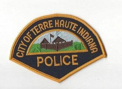 Terre Haute (Vigo County) IN Indiana Police Dept. patch - NEW!