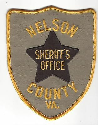 Nelson County VA Virginia Sheriff's Office Dept. patch - NEW!