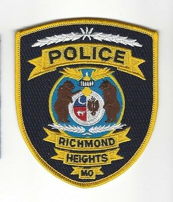 Richmond Heights MO Missouri Police Dept. LEO patch - NEW!