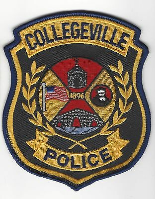 Collegeville PA Pennsylvania Police Dept. LEO patch - NEW