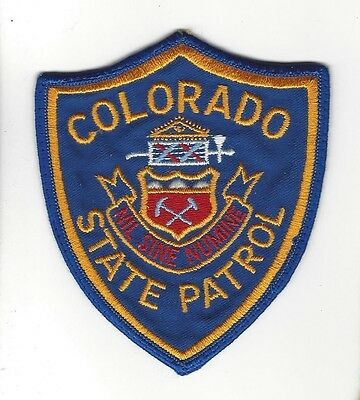Colorado CO State Patrol 'SEAL' LEO patch - NEW!