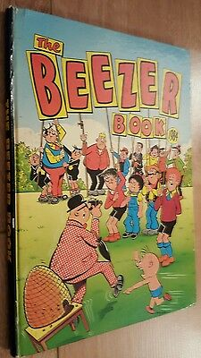 The Beezer Cartoon Comic Book Hardback Annual 1984 unclipped