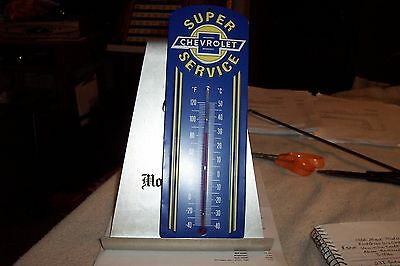 "Chevrolet Thermometer 12"" tall"