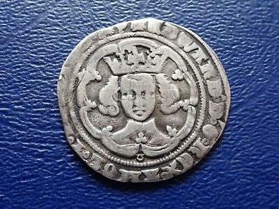 Great Britain  Edward 3Rd Iii Hammered Silver Groat No.3