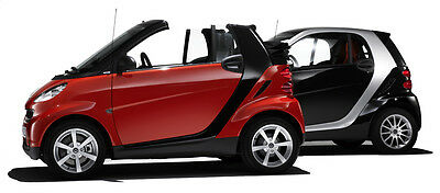 Smart fortwo 42 City Coupe/Cabrio Workshop repair manual 450 + 451 1998 - 2009