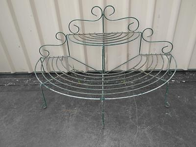 Vintage RETRO Metal POT PLant GARDEN Stand VERY Strong Adelaide