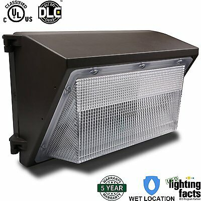 100 watt Phillips LED commercial wall pack .  UL Approved 12000 lumens