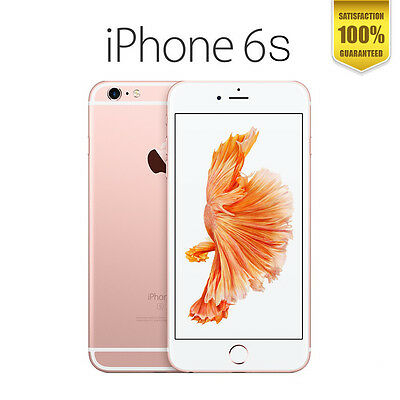 Apple iPhone 6S / 6S plus 16GB 64GB 128GB  Silver Rose Gold Space Grey + Express