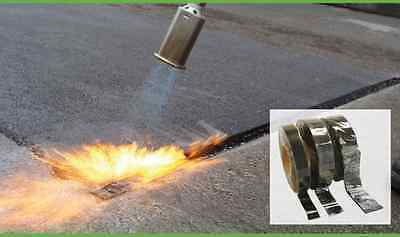 Overbanding Kit Complete Tarmac Jointing Gas Torch with 10 METRES Overband Tape