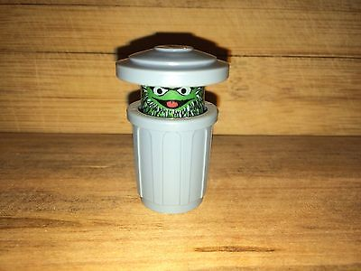Vintage '77-'78 Fisher-Price Little People Sesame Street Oscar the Grouch Figure