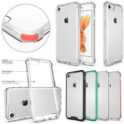 SlimGrip Shockproof Hybrid Protective Case TPU Bumper for iPhone X XS XR 8 Plus