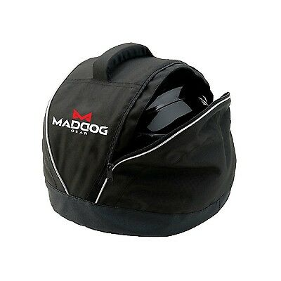 Coleman Mad Dog Gear Black Motorcycle Welder construction Fleece Helmet Bag