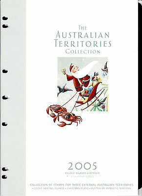 Australia THE AUSTRALIAN TERRITORIES COLLECTION 2005