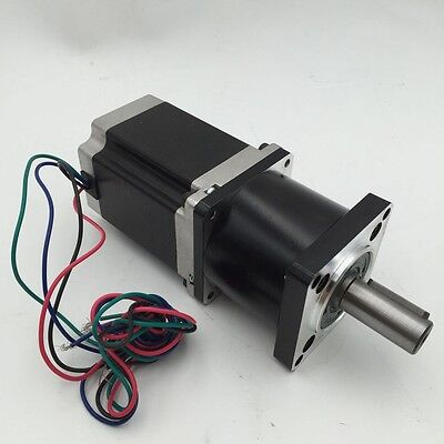 Planetary 30:1 Gearhead Nema23 L76MM Stepper Motor 54Nm CNC Router Speed Reducer