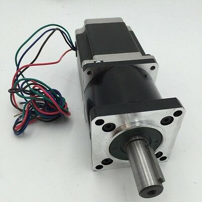 90NM Output Nema23 Stepper Motor L76mm 3A 50:1 Planetary Speed Reducer Gearbox