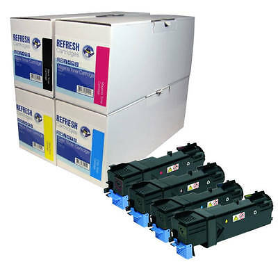 Refresh Cartridges Single / Multi Pack Toner Compatible With Xerox Phaser 6128