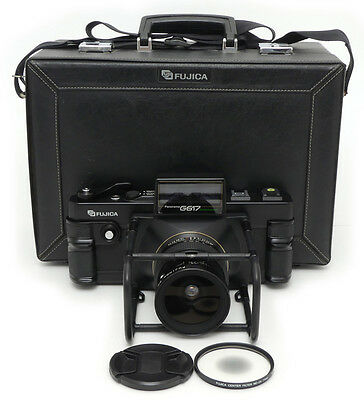 Fujifilm G617 Professional Panoramic. 105mm F8 Lens. Center Filter ND-2X. Case