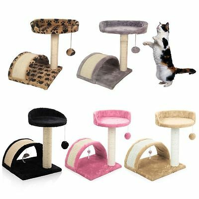 Cat Tree Scratching Post Scratch Activity Center Scratcher Pole Bed Toys