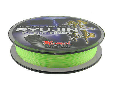 Momoi Ryujin Braided Line / 164 yds / Lime Green
