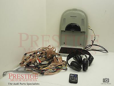 Panasonic Rear Entertainment DVD Player with Cordless Headphones