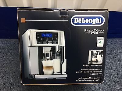 DeLonghi ESAM 6720 PrimaDonna Avant Automatic Coffee Machine NEW Warranty