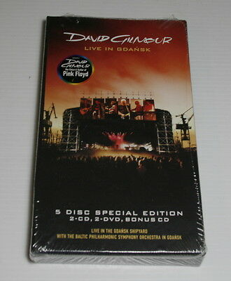 David Gilmour of Pink Floyd - Live In Gdansk - 5 Disc Special Edition - Sealed