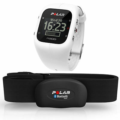 Polar A300 Fitness and Activity Monitor with Heart Rate White