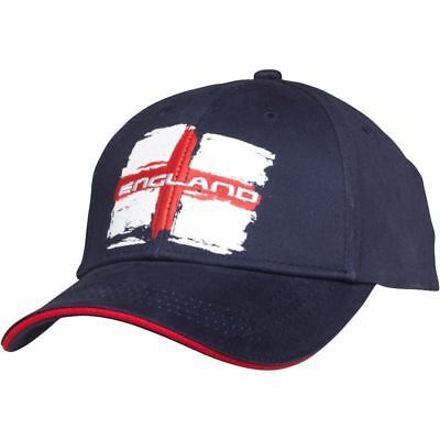 England IRB Rugby World Cup 2015 Flag Baseball Cap Navy Adults Hat