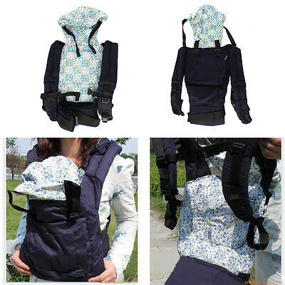 New Warm Cotton Front & Back Baby Carrier Comfort Backpack Sling Wrap MR