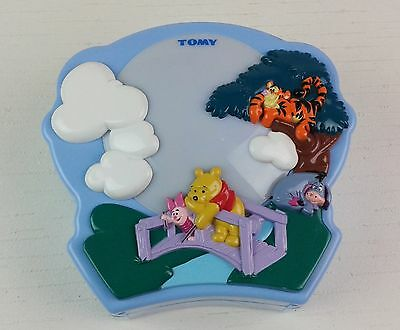 Tomy Disney Winnie The Pooh Baby Cot Musical Light & Projector. Tested. See Pics