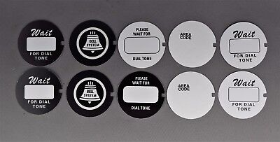 Western Electric Dial Cards - 10 Pack - Best on the Market! - SKU - 21595