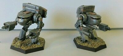 Battletech Clan Wolf-in-Exile 2x Arctic Fox Painted