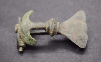 Superb Ancient Roman Bronze Fibula Brooch 1St - 2Nd Century Ad,