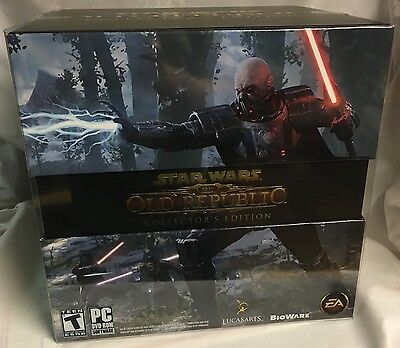 Star Wars The Old Republic Collector's Edition NEW SEALED & COMPLETE Game