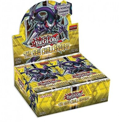 Yu-Gi-Oh! The New Challengers Display (24 Booster) Neu & OVP