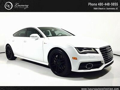 2012 Audi A7 Base Hatchback 4-Door Navigation_Rear Camera_Heated Cooled Seats_Bose_AWD_Sunroof