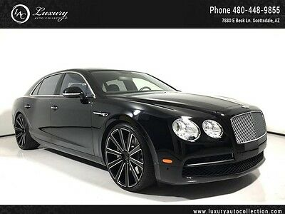 2015 Bentley Continental Flying Spur  Giovanni Wheels_Massage Seats_Niam Sound_ Tables_Piano Wood_Rear Camera