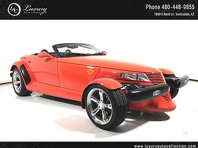 2000 Plymouth Prowler Base Convertible 2-Door 2000 Plymouth One Owner Chrome Wheels Everything Original