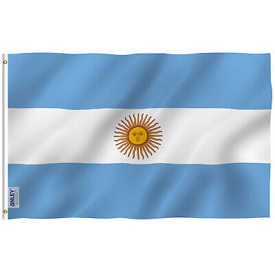 Anley Fly Breeze 3x5 Foot Argentina Flag Argentinian National Flags Polyester