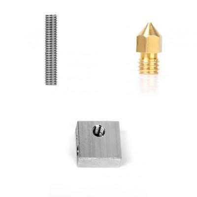 3D Printer Part Extruder Nozzle Print Head Throat Heater Block for Makerbot