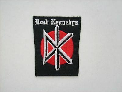 BRAND NEW OLD SCHOOL DEAD KENNEDYS 2.5x3.5 INCH EMBROIDERED PATCH FREE SHIPPING