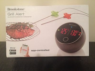 Brookstone grill alert bluetooth connect thermometer