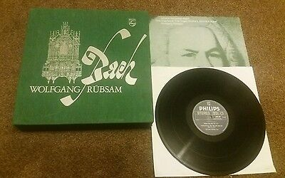 Bach Wolfgang Rubsam The Organ Works Philips 6767 004  25 Lp Box Set L@@k