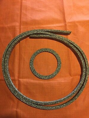 60540-36 60567-36 Panhead Knucklehead Inspection & Primary Cover Cork Gasket Set