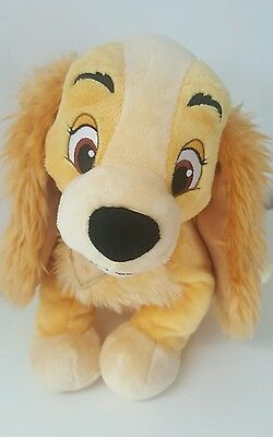 Disney Store Lady And The Tramp Lady 30cm Plush Soft Toy
