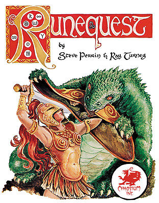 RuneQuest RPG: Classic Edition RPG Hard Cover Chaosium New