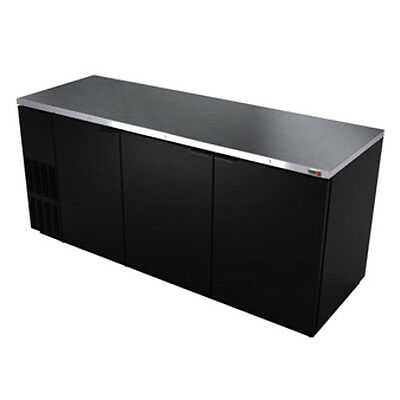 """Fagor FBB-79 80"""" Refrigerated Back Bar Cabinet with 3 Solid Doors"""
