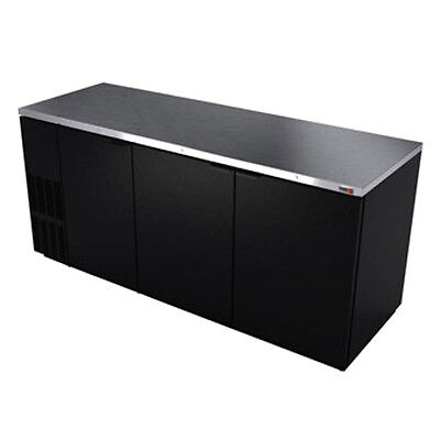 """Fagor FBB-95 95.5"""" Refrigerated Back Bar Cabinet with 3 Solid Doors"""
