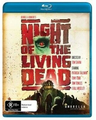 Night of the Living Dead (1990) [New Blu-ray] Australia - Import